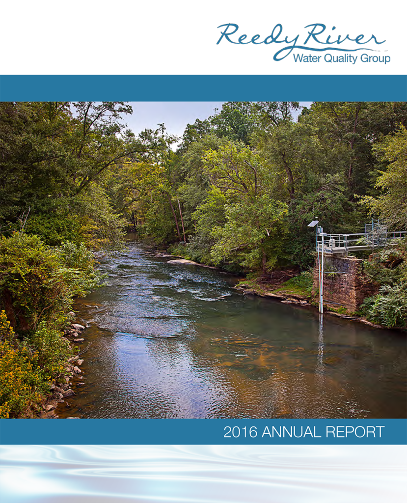 2016 Annual Report: Reedy River Water Quality Group